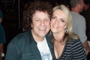 Lisa B and Leo Sayer