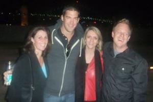 Lisa B, Sean Malarkey and Lewis Howes