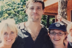 Lisa B, Tony Robbins and Sage Robbins