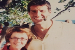 Lisa B and Tony Robbins