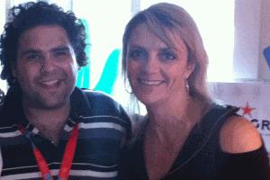 Lisa B and Andrew Morello