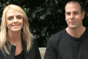 Lisa B and James Schramko