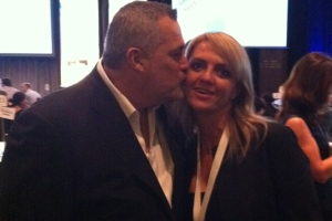 Lisa B and Jeffrey Hayzlett