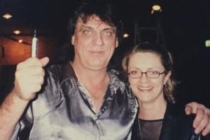 Lisa B and Jon English