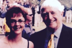 Lisa B and Michael Parkinson