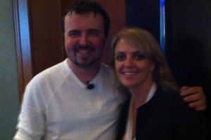Lisa B and Scott Stratten