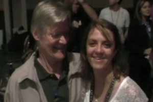 Lisa B and Udo Erasmus